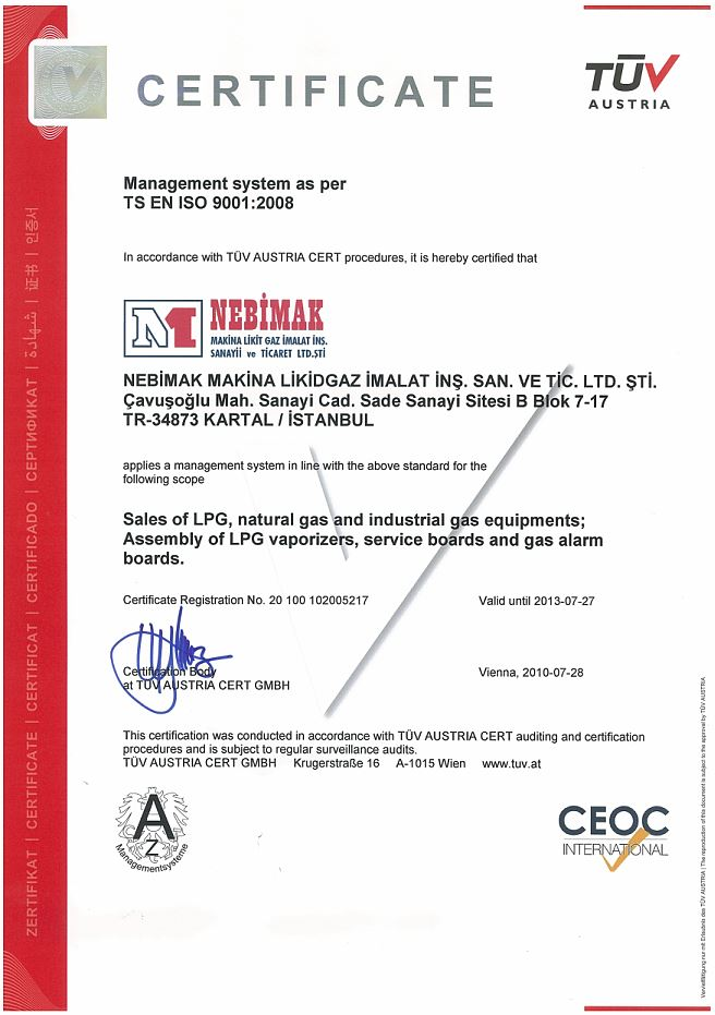 Nebimak-TUV-certificate-ENG