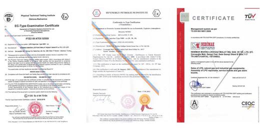 nebimak-certificates